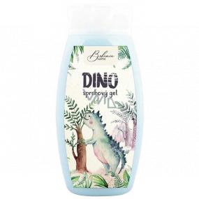 Bohemia Gifts Kids Dino sprchový gél pre deti modrý 250 ml