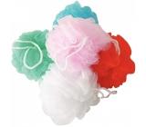 Calypso Passion kvetina kúpeľová huba rôzne farby 1 kus