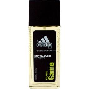 Adidas Pure Game parfumovaný deodorant sklo pre mužov 75 ml