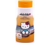 Hello Kitty Minerály z Mrtvého moře 2v1 šampon a kondicionér pro děti 250 ml