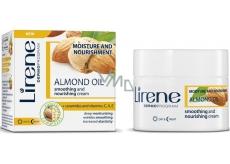 Lirene Mandľový olej Hydratačné zjemňujúce vyživujúce denný aj nočný krém 50 ml
