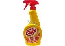 Savo Kuchyňa tekutý čistič na mastnú špinu rozprašovač 500 ml