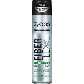 Syoss Fiberflex Flexible Hold 48h silná fixácia lak na vlasy 300 ml