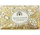 English Soap Vintage Oranžový květ Přírodní parfémované mýdlo s bambuckým máslem 200g