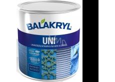 Balakryl Uni Mat 0199 Čierny univerzálna farba na kov a drevo 700 g