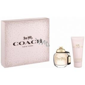 Coach Eau de Parfum toaletná voda pre ženy 50 ml + telové mlieko 100 ml, darčeková sada
