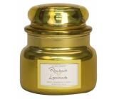 Village Candle Rebarborová citronáda - Rhubarb Lemonade vonná sviečka v skle 2 knôty 262 g