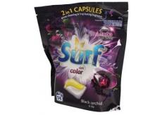 Surf Black Orchid & Lily kapsle na praní tmavého prádla 14 dávek 337 g