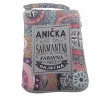 Albi Skladacia taška na zips do kabelky s menom Anička 42 x 41 x 11 cm