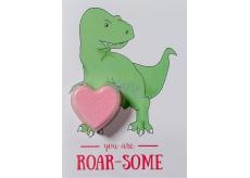 Bomb Cosmetics Si môj T-rex - You Are Roarsome Šumivé želanie s balistiky 40 g