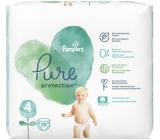 Pampers Pure Protection veľkosť 4, od 9-14 kg plienkové nohavičky 28 kusov