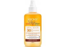 Vichy Ideál Solei SPF30 Ochranný sprej s betakaroténom pre podporu zjednoteného tónu pleti a zvýraznenie opálenia 200 ml