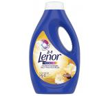 Lenor Color 2v1 Gold Orchid vôňa vanilky, mimózy, ruží a broskýň tekutý prací gél na farebné prádlo 18 dávok 990 ml