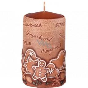Emóciám Perník Gingerbread vonná sviečka valec 60 x 110 mm