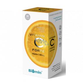 Biomin Vitamín C Forte prispieva k posilneniu imunity 500 mg doplnok stravy 60 kapslí