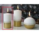 Lima Aróma línia sviečka zlatá valec 50 x 100 mm 1 kus