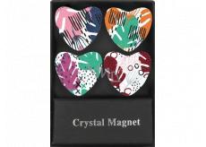 Albi Kryštálové magnetky Farebné 4 kusy