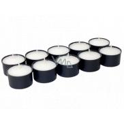 Náhrobné sviečka kalíšok WK 20 čierna 20 g 10 kusov