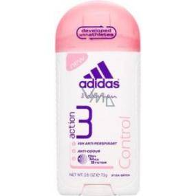 Adidas Action 3 Control antiperspirant deodorant stick pro ženy 45 g
