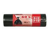 Alufix Sáčky do odpadkového koša čiernej, 10 μ, 60 llitrů, 64 X71 cm, 20 kusov