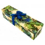 Anjel Darčeková krabička skladacia s mašľou na fľašu hrozno 34 x 9,5 x 9,5 cm 1 kus