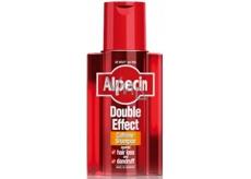 Alpecin Energizer Caffeine Double-Effect Kofeínový šampón proti lupinám a vypadávaniu vlasov 200 ml