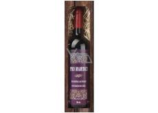 Bohemia Gifts & Cosmetics Merlot Pre Mamičku červenej darčekovej víno 750 ml