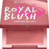 Rimmel London Royal Blush Cream Blush tvářenka 004 Regal Rose 3,5 g