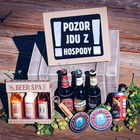 Bohemia Gifts Pivné špeciál darčekový kôš pre mužov