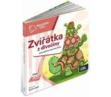 Albi Kúzelné čítanie interaktívne minikniha Zver z divočiny