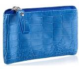 Diva & Nice Kozmetická kabelka modrá 11,5 x 8 x 0,5 cm