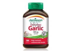 Jamieson Cesnak bez zápachu 500 mg, doplnok stravy s rastlinným výťažkom 100 kapslí