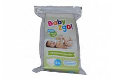 Baby2go! Prebaľovacie podložky pre deti 40 x 60 cm 5 kusov