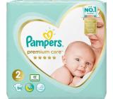 Pampers Premium Care 2 Mini 4-8 kg plienkové nohavičky 94 kusov