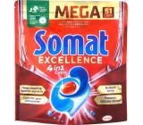 Somat Excellence 4v1 tablety do umývačky riadu 51 kusov