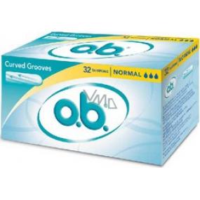 ob Original Normal tampóny 32 kusov