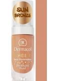Dermacol Sheer Face Illuminator skrášľujúce fluid Sun Bronze 15 ml