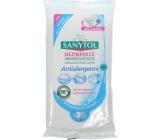 SANYTOL Antialergénne dezinfekcia univerzálny čistiace utierky jednorázové 24 kusov