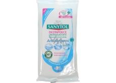 Sanytol Antialergenní dezinfekce univerzální čistící utěrky jednorázové 24 kusů