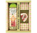 Bohemia Gifts Pre najlepšieho dedka sprchový gél 300 ml + ručne vyrábané mydlo 70 g, kozmetická sada
