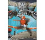 Ditipo Disney Dárková papírová taška dětská L Planes 32,4 x 12 x 26,4 cm 2902 008