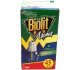 Biolit Aroma Elektrický odpařovač s vůní eukalyptu proti komárům 45 nocí náhradní náplň 27 ml