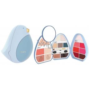 Pupa Bird 4 Make-up kazeta pre líčenie tváre, očí a pier 004 28,7 g
