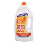 Pulirapid Casa Agrumi Citrusové ovocie univerzálny tekutý čistič s amoniakom a alkoholom na všetky domáce umývateľné povrchy 5 l
