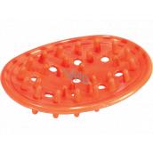 Plastic Nova Podložka, držiak pod mydlo Ježko 10,5 x 8 cm