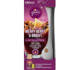 Glade Merry Berry & Bright s vôňou merlotu, lesných plodov a korenín automatický osviežovač vzduchu 269 ml