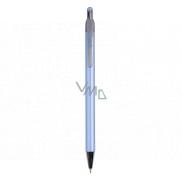 Spoko Stripes guľôčkové pero Needle Tip modrej, modrá náplň 0,3 mm