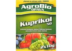 AgroBio Kuprikol 50 prípravok na ochranu rastlín proti hubovým chorobám 2 x 10 g