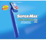 Super-Max Long Handle jednorazový 2břitý holiaci strojček pre mužov 1 kus