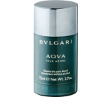 Bvlgari Aqva pour Homme deodorant stick pro muže 75 ml